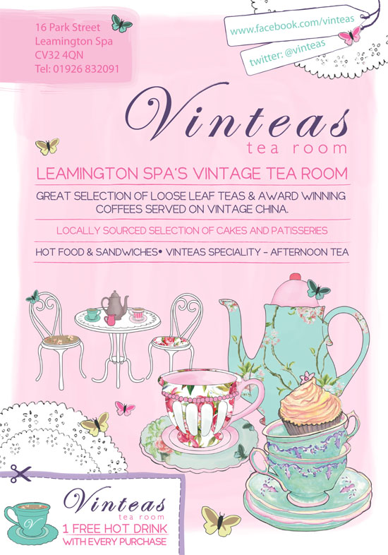 CreativeJuice :: Vinteas Tea Room Designs